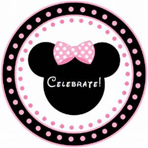 Minnie Mouse - Pink Printables Free Download - Birthday