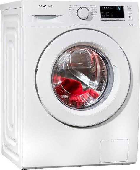 samsung waschmaschine 8 kg samsung waschmaschine ww80j3470kw eg 8 kg 1400 u min
