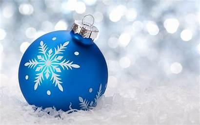 Ornaments Christmas Snow Bokeh Ornament Desktop Background