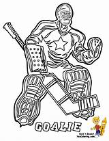 Hockey Coloring Pages Player Printable Players Yescoloring Nhl Ice Printables Gear Sabres Goalie Pro Sheets Puck Boys Slap Shot Pixels sketch template