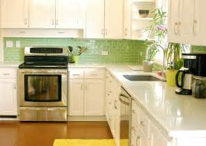green tile kitchen backsplash green glass tiles for kitchen backsplashes kitchentoday