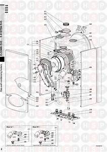 Ariston E Combi Evo 24  Burner  Diagram