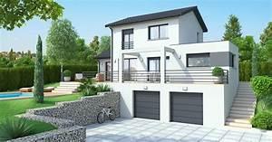 Type De Sol Maison : maison de type 3 volumes sur terrain tr s pentu maisons id ales ~ Melissatoandfro.com Idées de Décoration