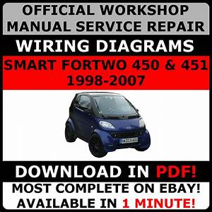 Official Workshop Repair Manual For Smart Fortwo 450