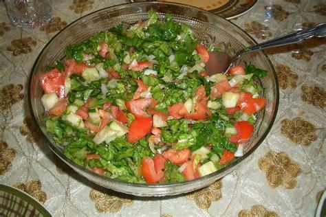 cuisine arabe salad