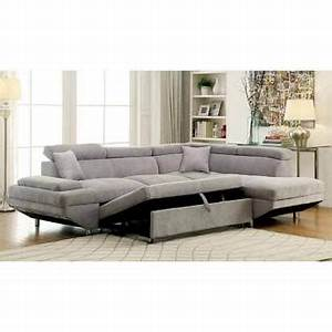 furniture of america sectional sofa w pull out bed sleeper With sectional sofa bed usa