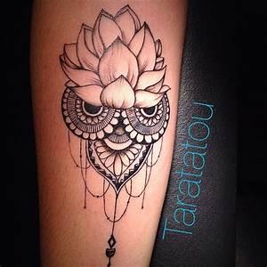 Fleur Lotus Tatouage : fleur de lotus originale tatouage femme mandala tatoo ~ Mglfilm.com Idées de Décoration