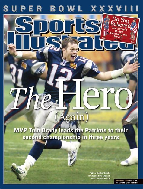 Large Covers by Tom Brady Sports Illustrated Covers My Pats Sports