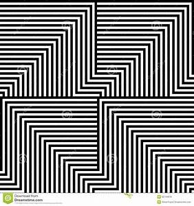 Black And White Lines Pattern Stock Illustration ...