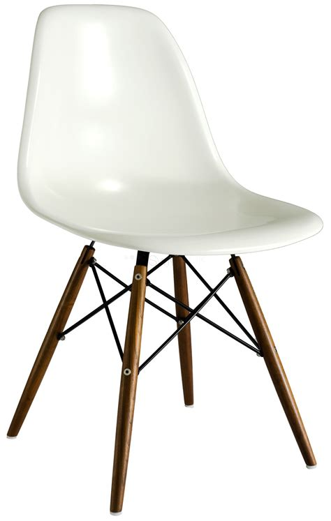 chaise imitation eames charles eames style dsw dining chair in fibreglass
