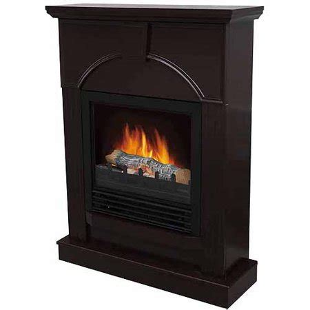 electric fireplace heater walmart electric fireplace with 26 quot mantle chocolate