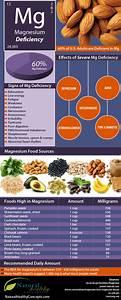 Magnesium Deficiency & the ADHD/Autism Correlation (Food Infographics)  ADHD Magnesium