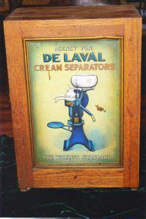 Ebay Vintage Lava L by Antique De Laval Separator 1900s Oak Store Display
