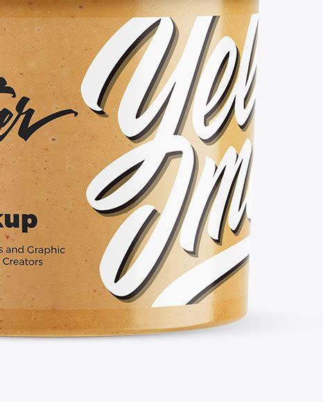 600+ vectors, stock photos & psd files. Peanut Butter Jar Mockup in Jar Mockups on Yellow Images ...