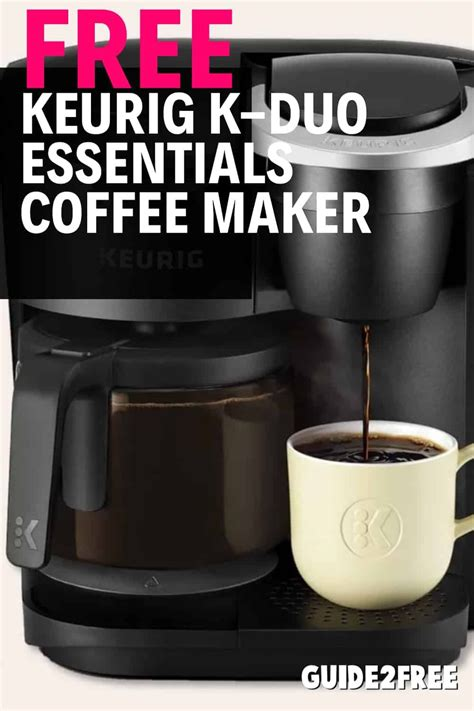 Coffee pot replacement glass coffee pot for 10 or 12 cup coffee makers. FREE Keurig K-Duo Essentials Coffee Maker   Coffee maker, Coffee, Keurig