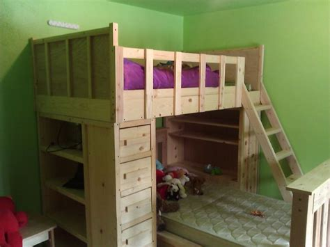 17 Best Ideas About Cabin Bunk Beds On Pinterest