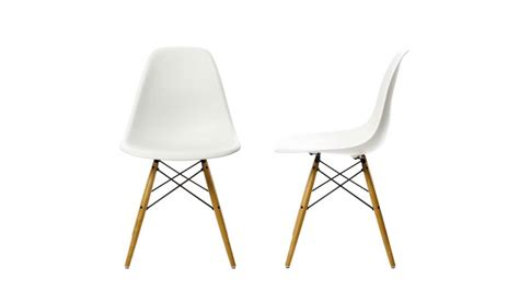 chaise design vitra eames plastic side chair dsw
