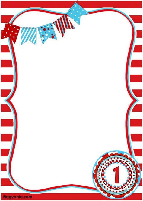 Dr Seuss Birthday Invitations Printables Bagvania FREE