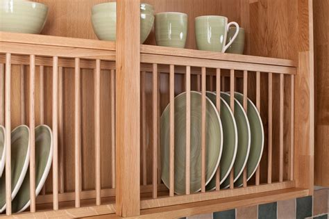 Plate Rack For Cupboard by Solid Wood Oak Plate Rack Wood Kitchen Plate Racks From