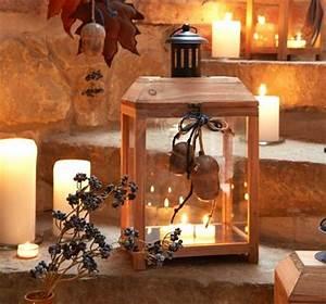 Laterne Kerze Draußen : laterne aus tannenholz bild 12 living at home ~ Watch28wear.com Haus und Dekorationen