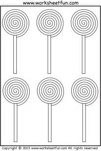 Spiral Tracing Worksheet