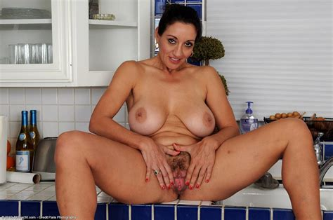 hot cougar persia monir in The Kitchen Free cougar sex
