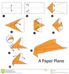 How to Make Jet Paper Airplane Steps