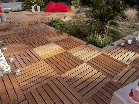 dalle en bois pour terrasse terrasse en bois 3 conseils pour faire le bon choix travaux
