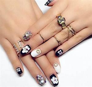 Nail Art Designs With Stones | www.pixshark.com - Images ...