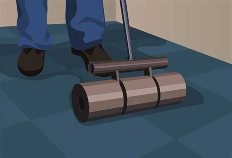 home depot flooring roller how to install carpet tiles at the home depot