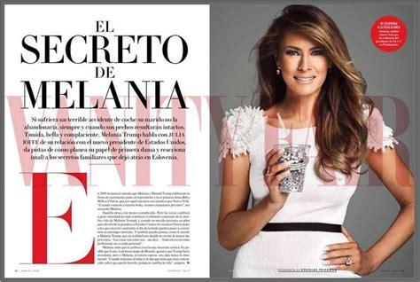 vanity fair sparks mexican ire melania cover sbs news