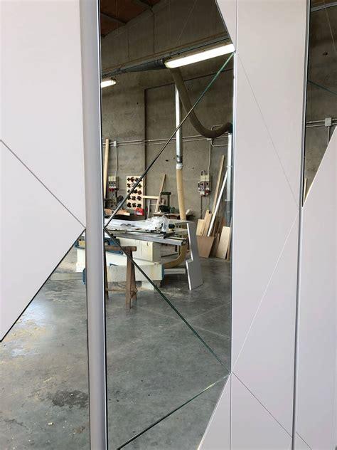 armadio ingresso con specchio armadio per ingresso con inserti in specchio legnoeoltre
