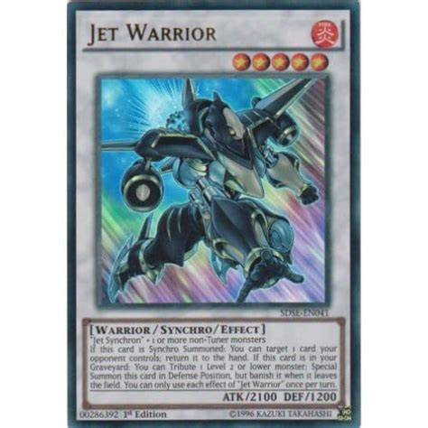 Yugioh Synchro Structure Deck by Yu Gi Oh Synchron Structure Deck Sdse En041 Jet
