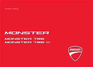 Ducati Monster 1100 Evo Abs 2012 Owner U2019s Manual
