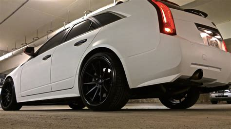 cadillac cts  awd wagon custom magniflow exhaust youtube