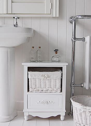 Small Free Standing Bathroom Cabinet by Free Standing Small Bathroom Cabinet White Cottage