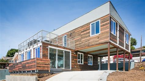 san diego modern home   shipping containers