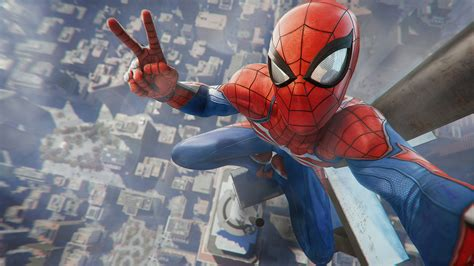 Spider Man Game Playstation 4 2018 4k Wallpapers