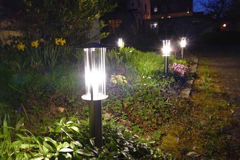 Standlaterne Garten Wegeleuchten Mit Bewegungsmelder Garten Bega Abgeblendete