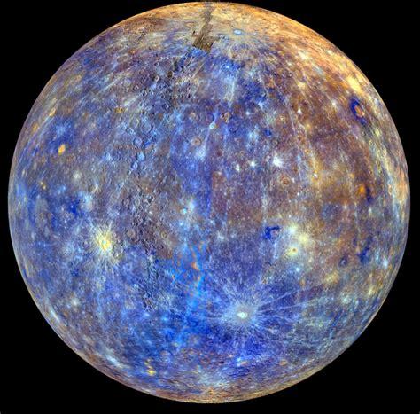 what color is mercury mercury false color rotation nasa solar system