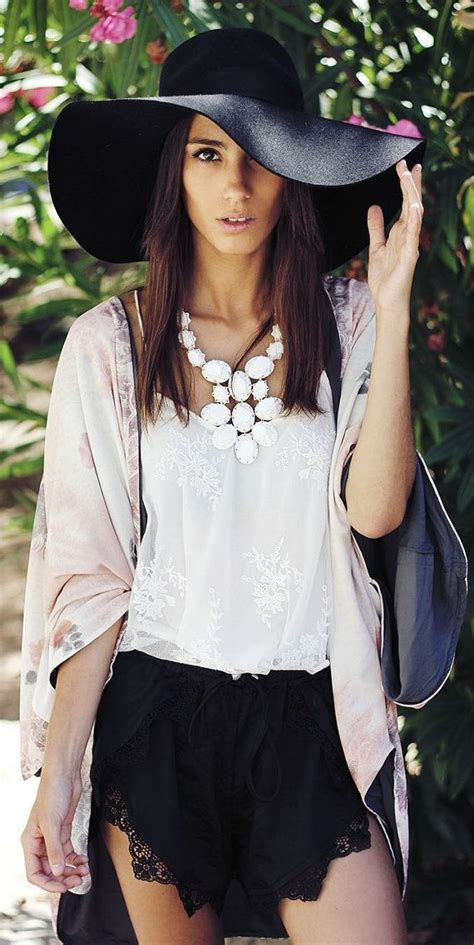 What to Wear with Summer Hats u2013 Glam Radar