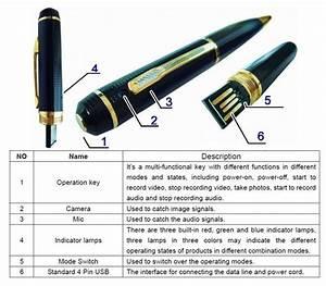 32gb Hd Spy Pen Camera   1499  Lifetime Warranty