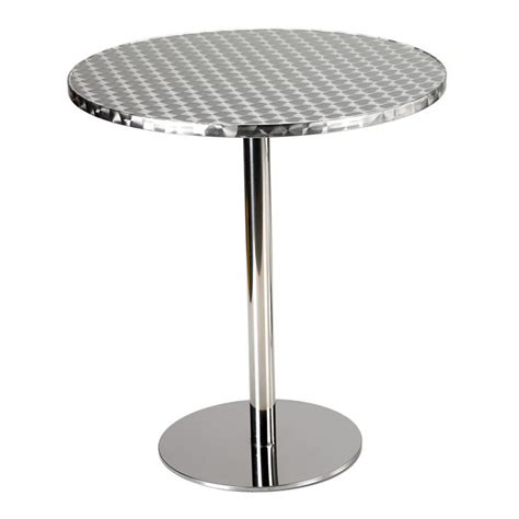 table bistrot aluminium table ronde de bistrot as63 jornalagora