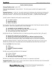 Readworks answers for hammurabi's code. Soft Cell Answer Key.pdf - Teacher Guide Answers Soft Cell Teacher Guide Answers Passage Reading ...