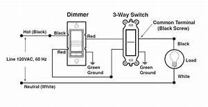 Lutron 3 Way Dimmer Switch Wiring Diagram