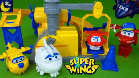 super wings toys donnies fix  garage playset