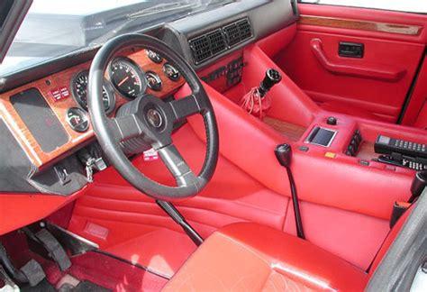 Lamborghini Lm002 Interior  In 2 Motorsports