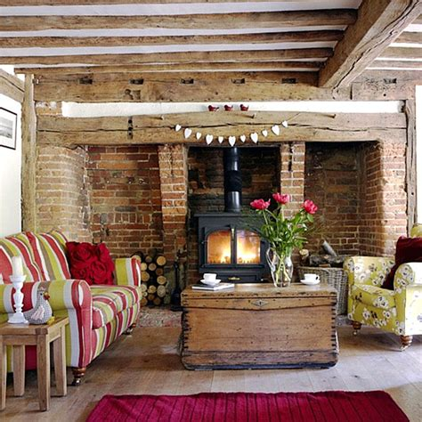 Country Style Living Room Ideas by Country Home Decor With Contemporary Flair