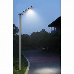 Lampadaire Exterieur Pas Cher : eclairage solaire ext rieur panneau 8w int gr ~ Melissatoandfro.com Idées de Décoration
