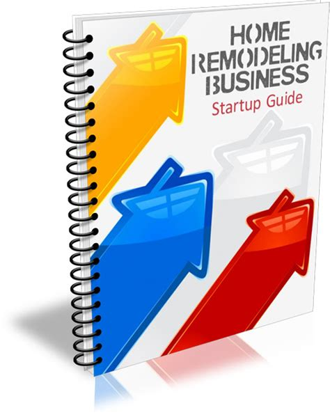 home remodeling business startup guide plr  private